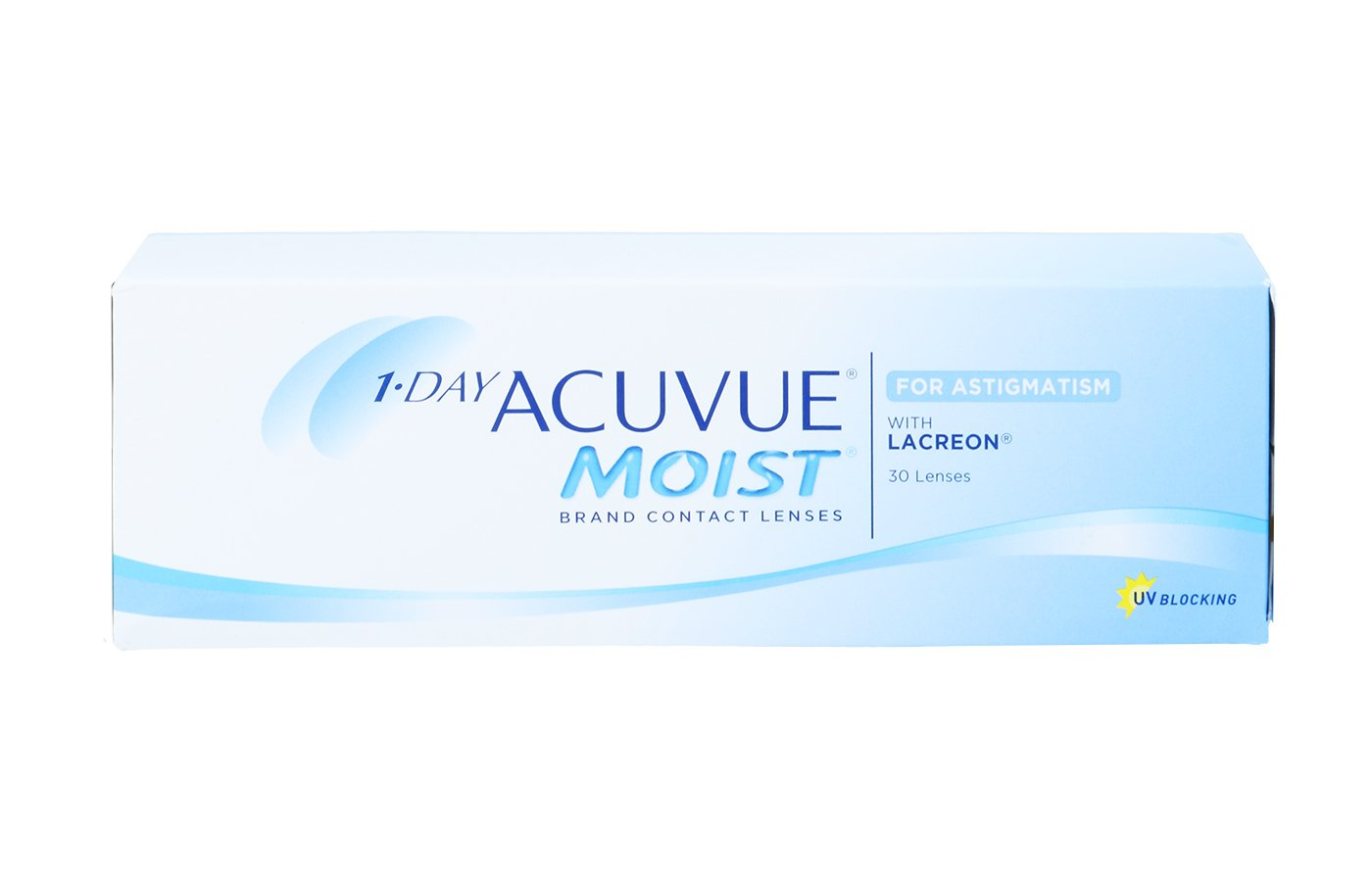 1-Day Acuvue Moist for Astigmatism 30 ud