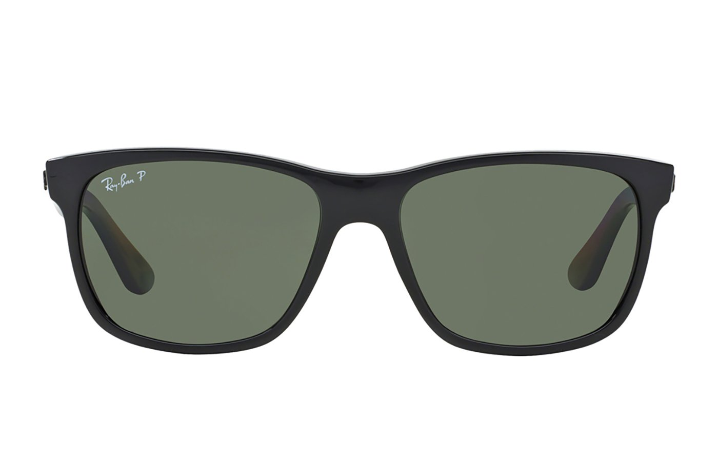 RAY-BAN RB4181 SHINY BLACK 0RB4181 57 601/9A POLARIZADA