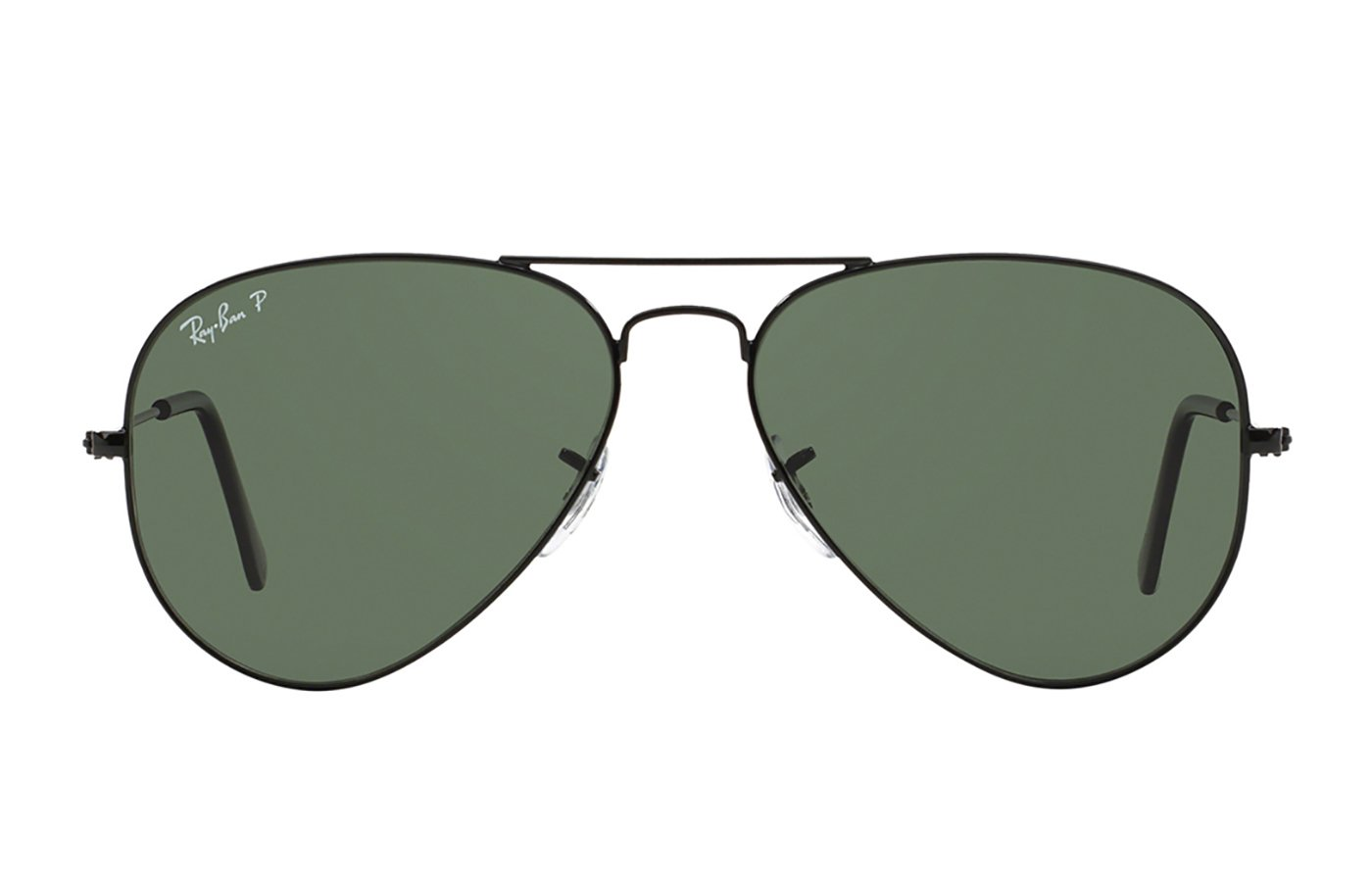 RAY-BAN AVIATOR LARGE METAL 0RB3025 58 002/58 BLACK POLARIZADA
