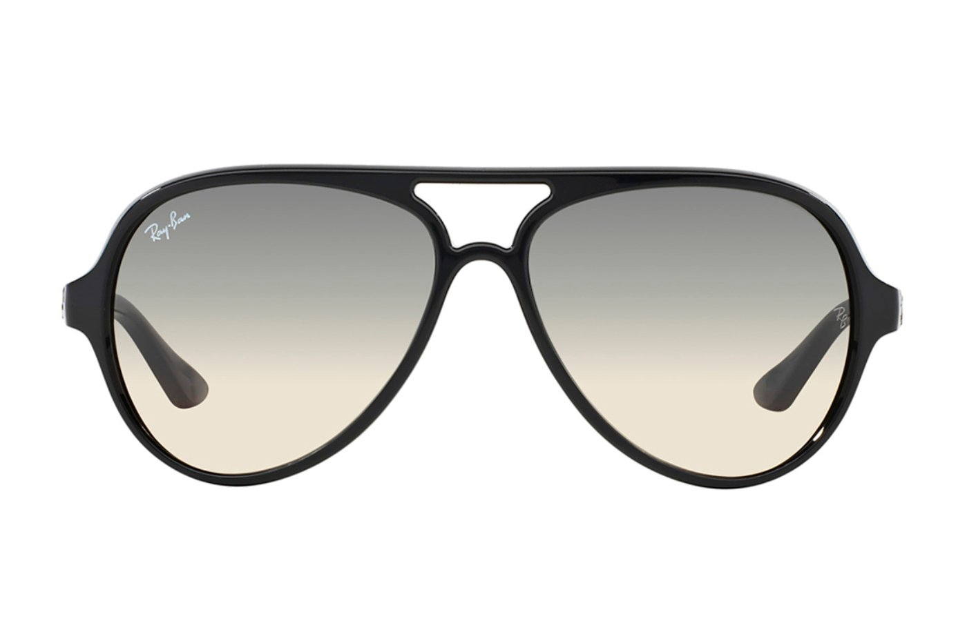 RAY-BAN CATS 5000 0RB4125 59 601/32 BLACK