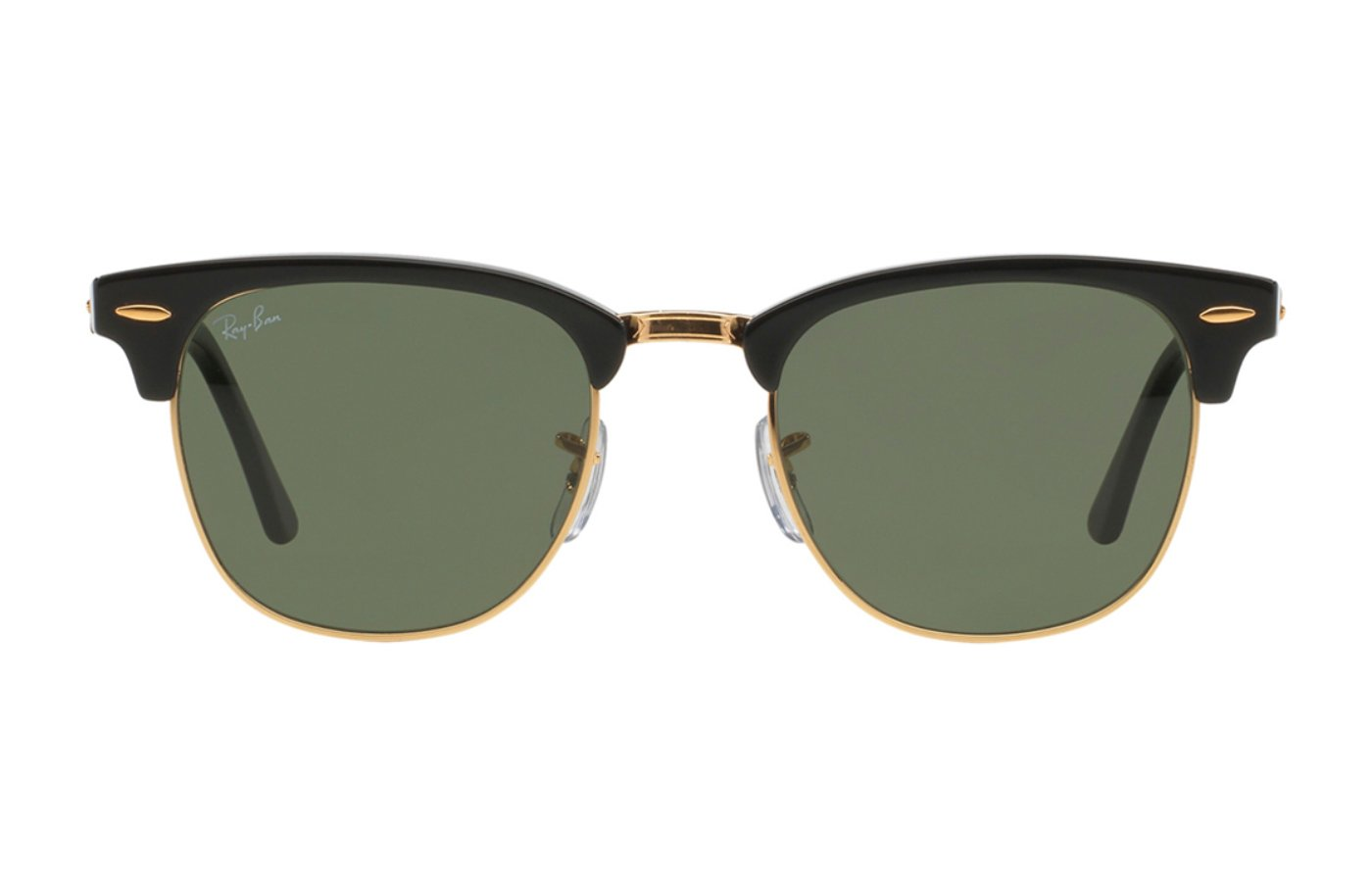 RAY-BAN CLUBMASTER 0RB3016 51 W0365 EBONY/ ARISTA