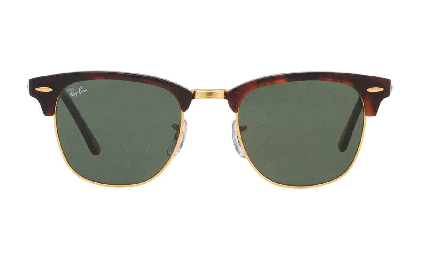RAY-BAN CLUBMASTER 0RB3016 51 W0366 MOCK TORTOISE/ ARISTA
