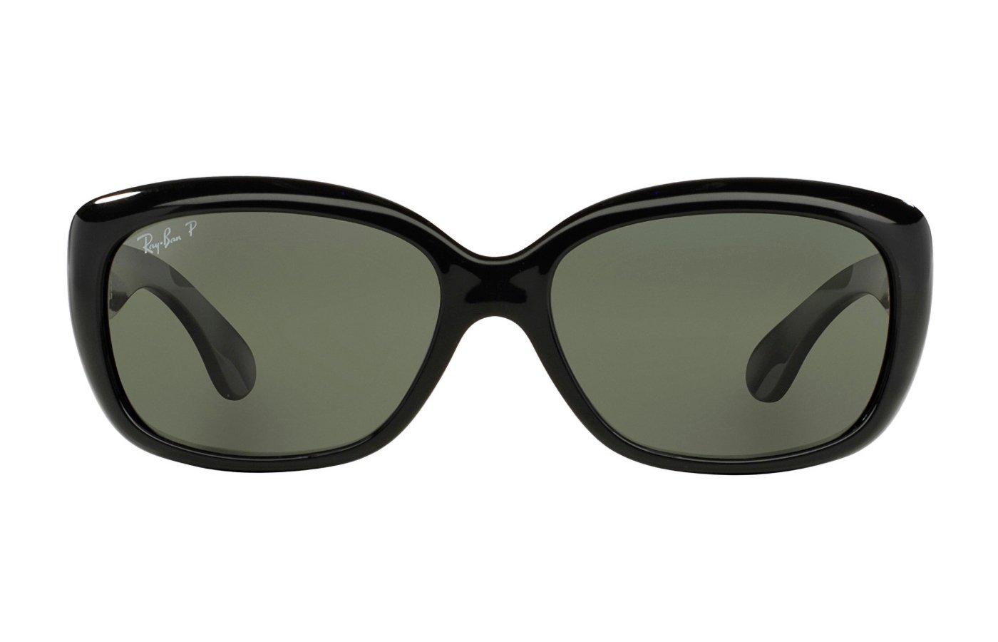 RAY-BAN JACKIE OHH 0RB4101 58 601/58 BLACK POLARIZADA