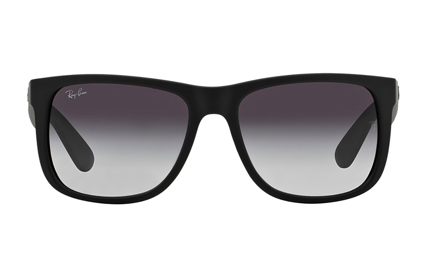 RAY-BAN JUSTIN 0RB4165 55 601/8G RUBBER BLACK