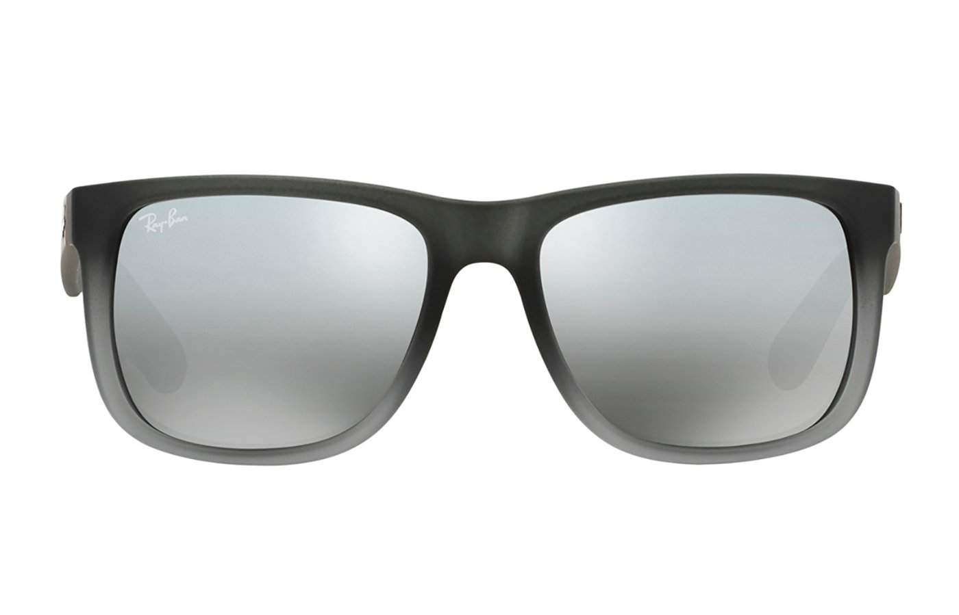 RAY-BAN JUSTIN 0RB4165 55 852/88 RUBBER GREY/GREY TRANSP.