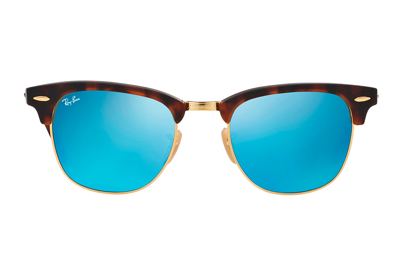 RAY-BAN CLUBMASTER 0RB3016 51 114517 SAND HAVANA/GOLD