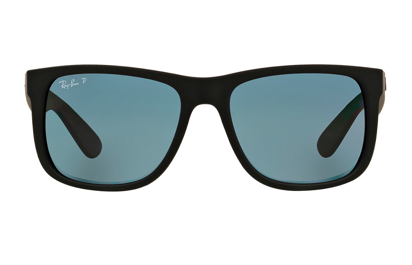 RAY-BAN JUSTIN 0RB4165 55 622/2V BLACK RUBBER POLARIZADA
