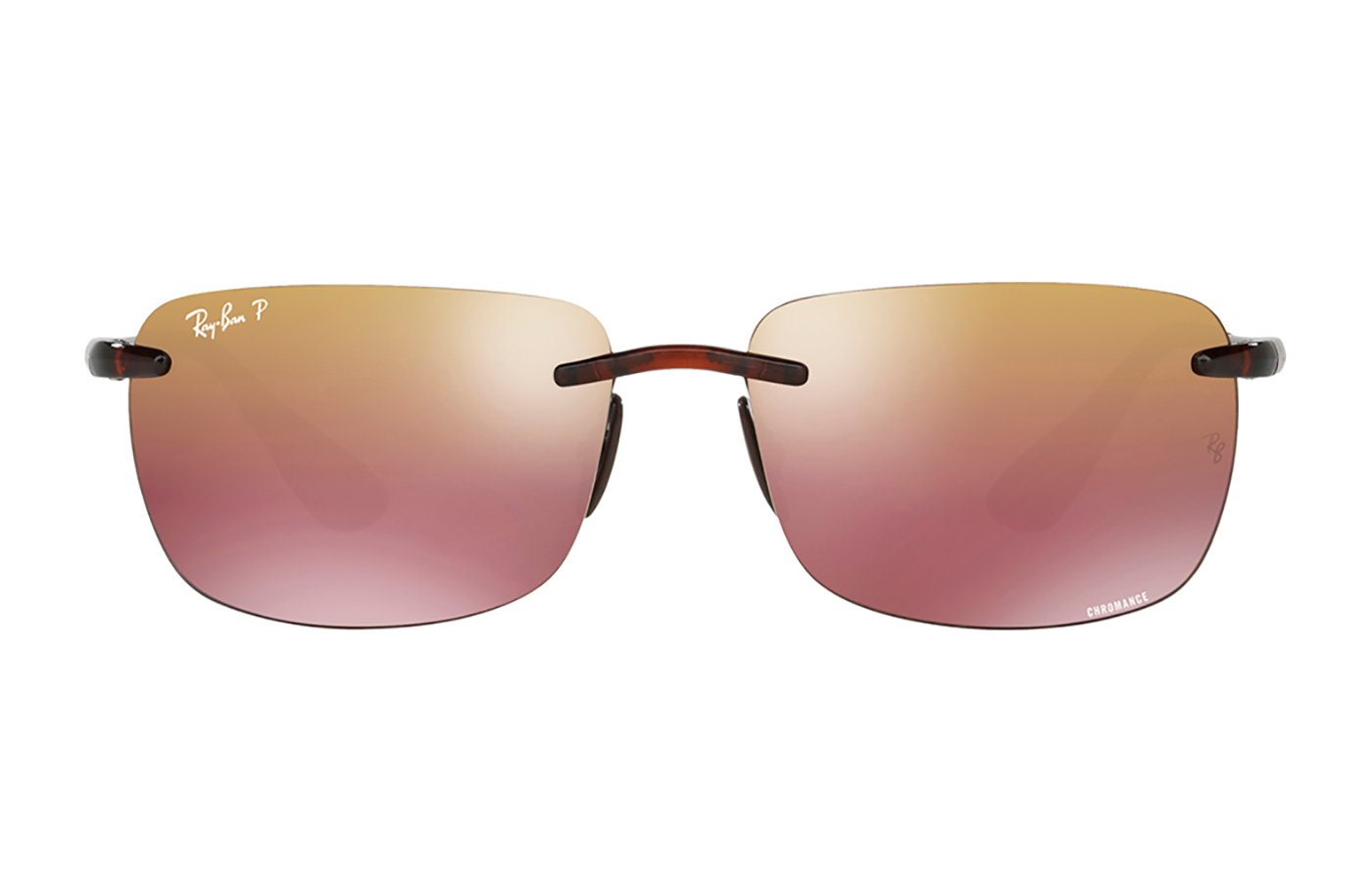 RAY-BAN 0 SHINY BROWN 0RB4255 60 604/6B POLARIZADA