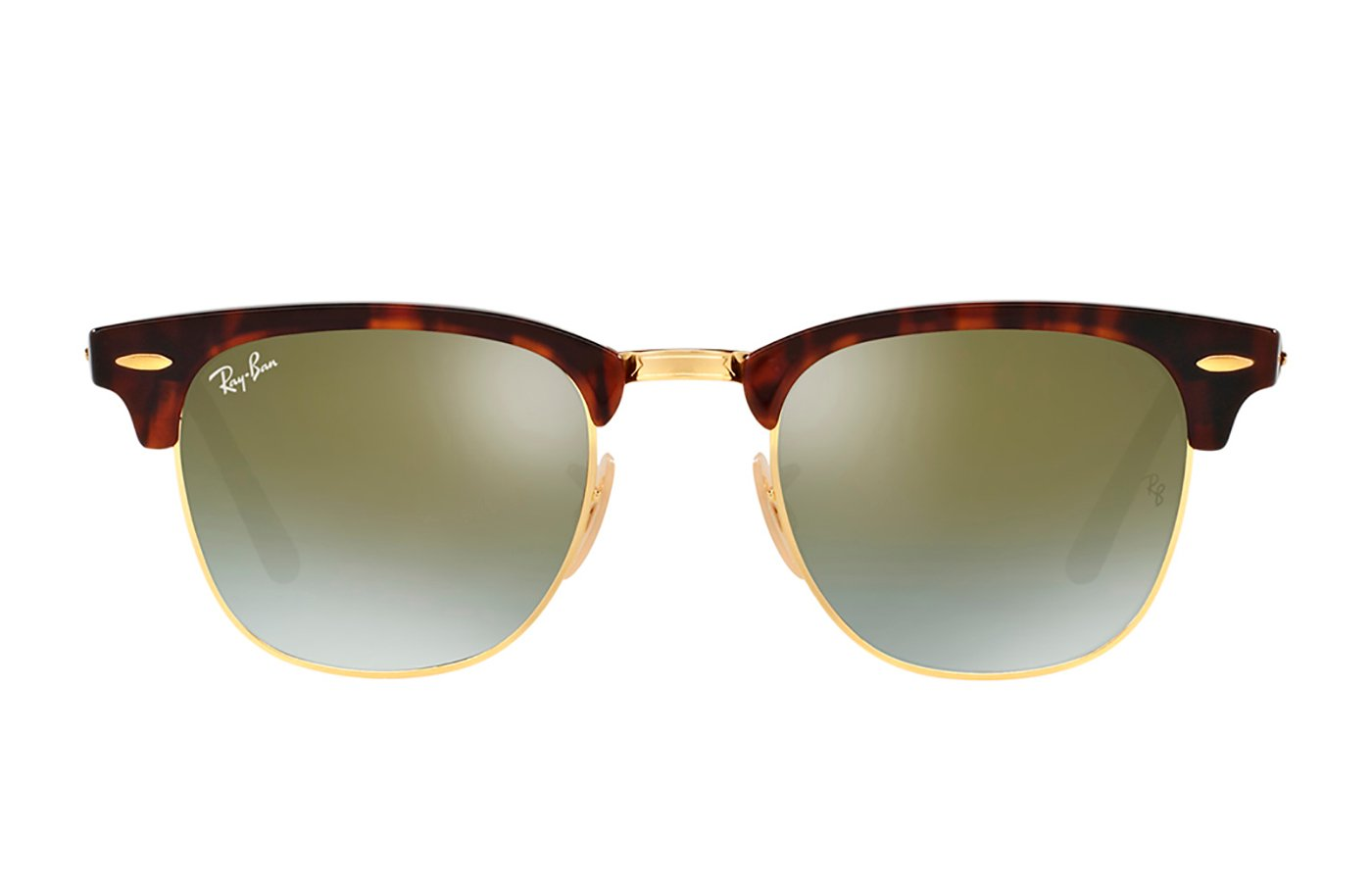 RAY-BAN CLUBMASTER SHINY RED/HAVANA 0RB3016 51 990/9J