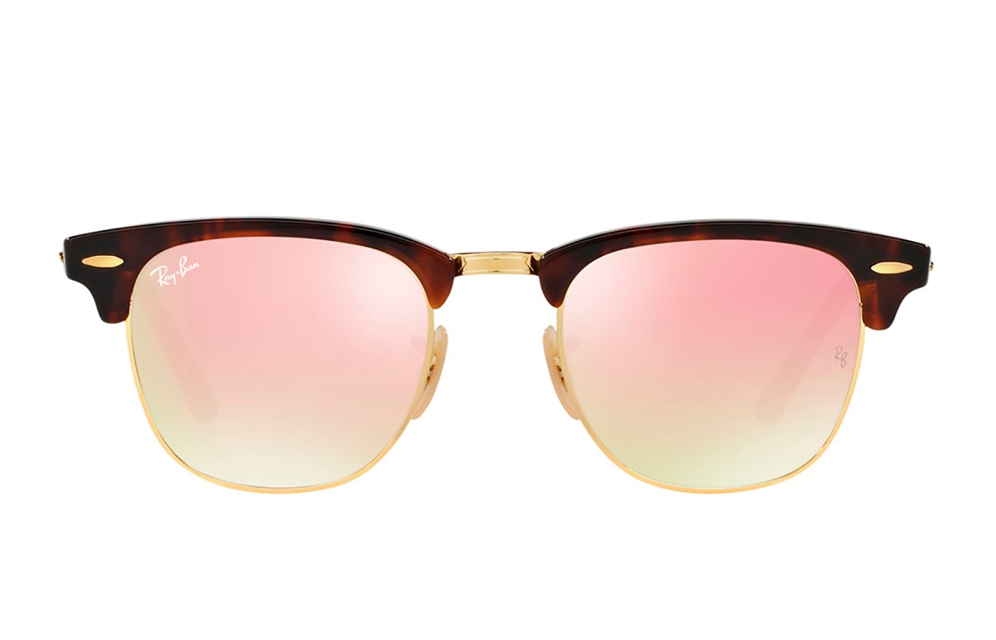 RAY-BAN CLUBMASTER 0RB3016 49 990/7O SHINY RED/HAVANA
