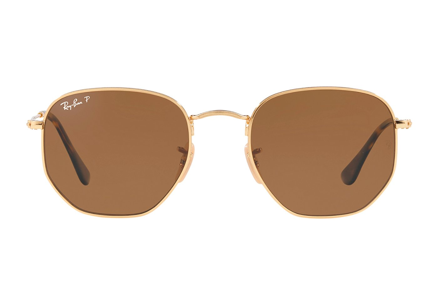 RAY-BAN HEXAGONAL GOLD 0RB3548N 51 001/57 POLARIZADA
