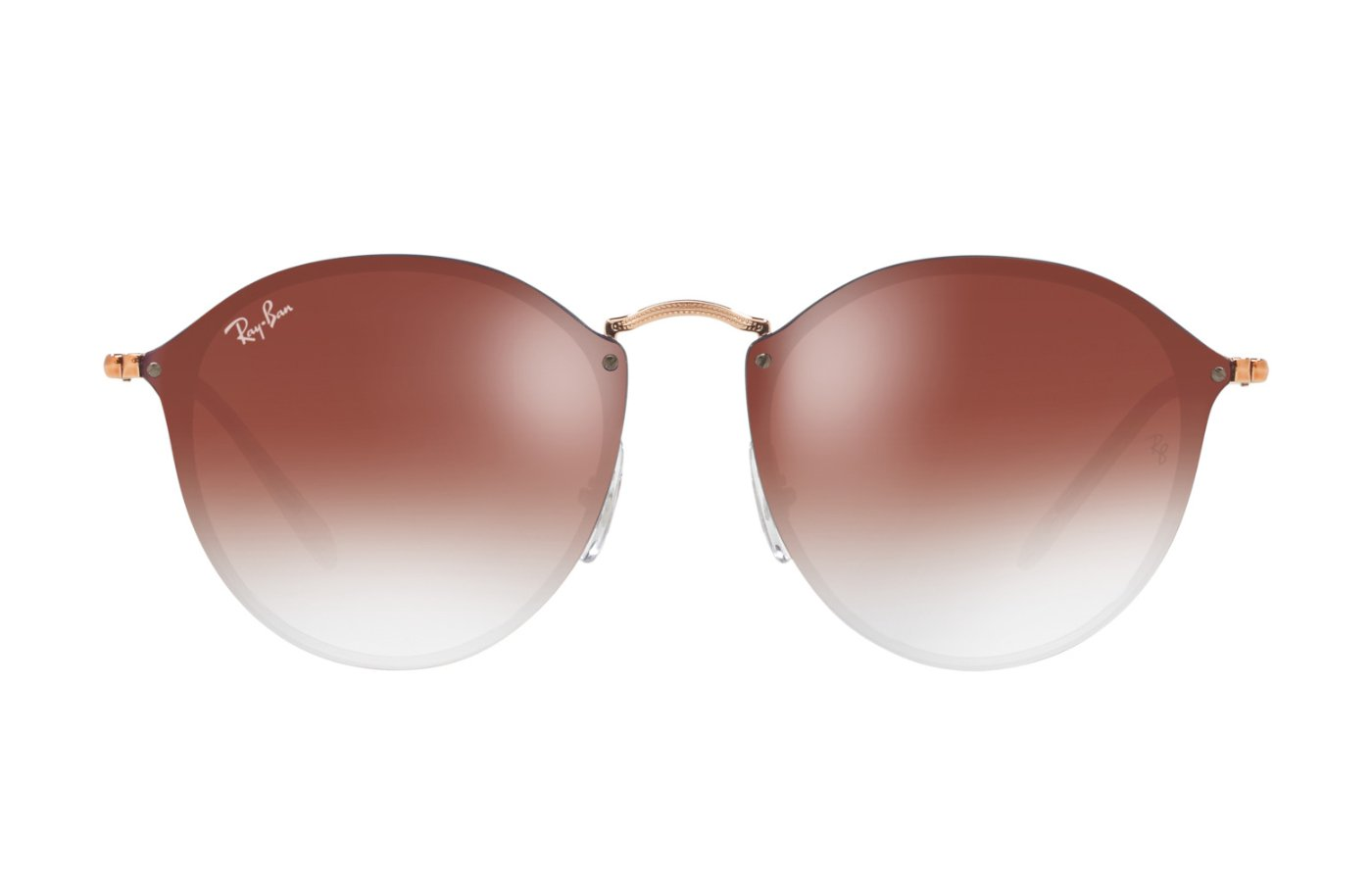 RAY-BAN BLAZE ROUND 0RB3574N 9035V0 COPPER