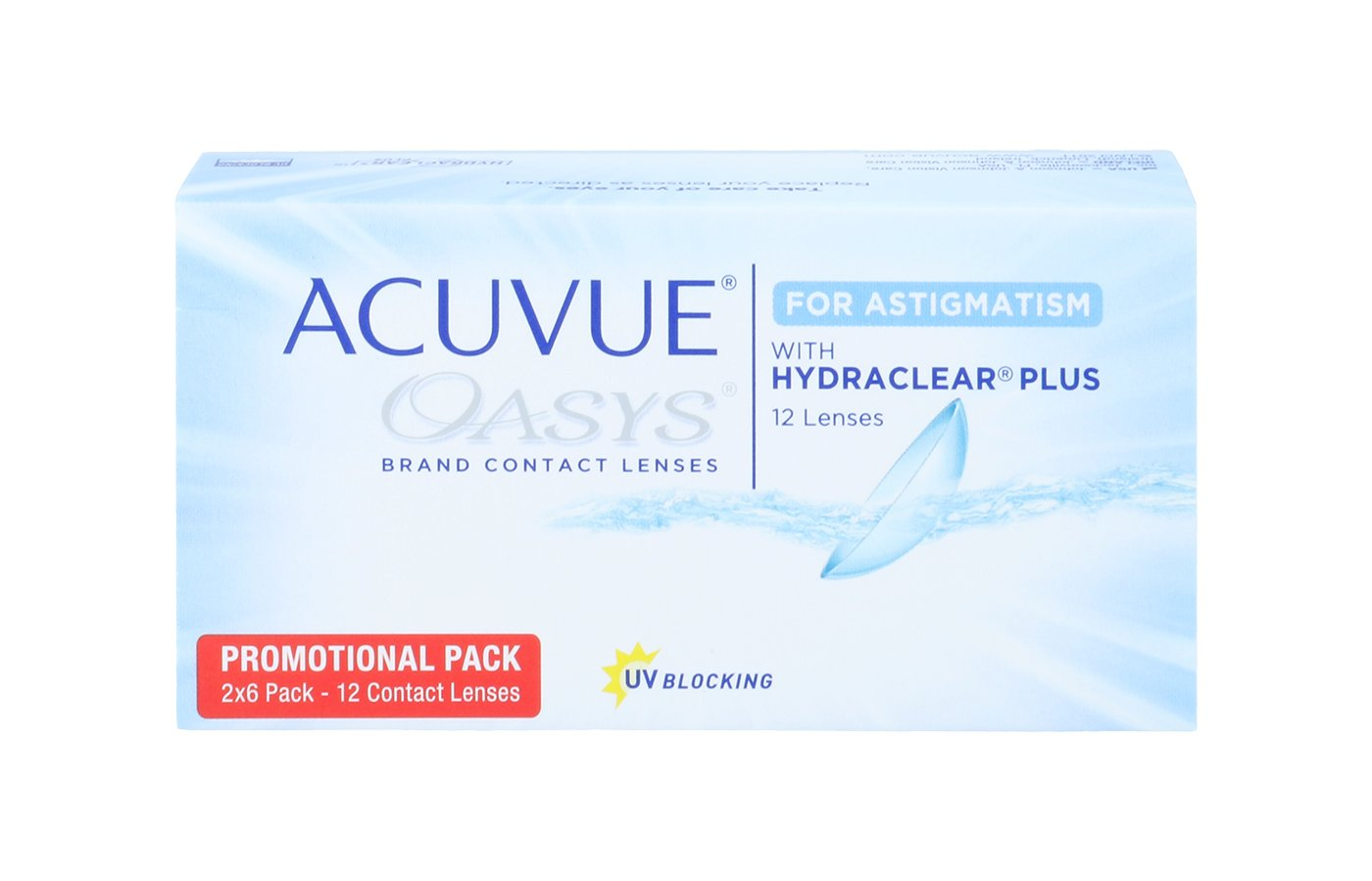 Acuvue Oasys for Astigmatism 12 ud
