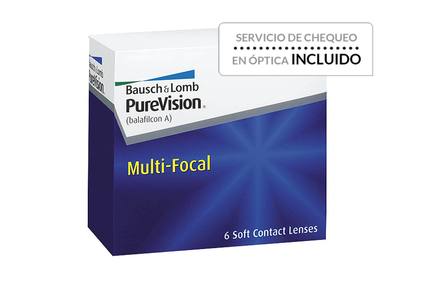 PureVision Multi-Focal 6 ud