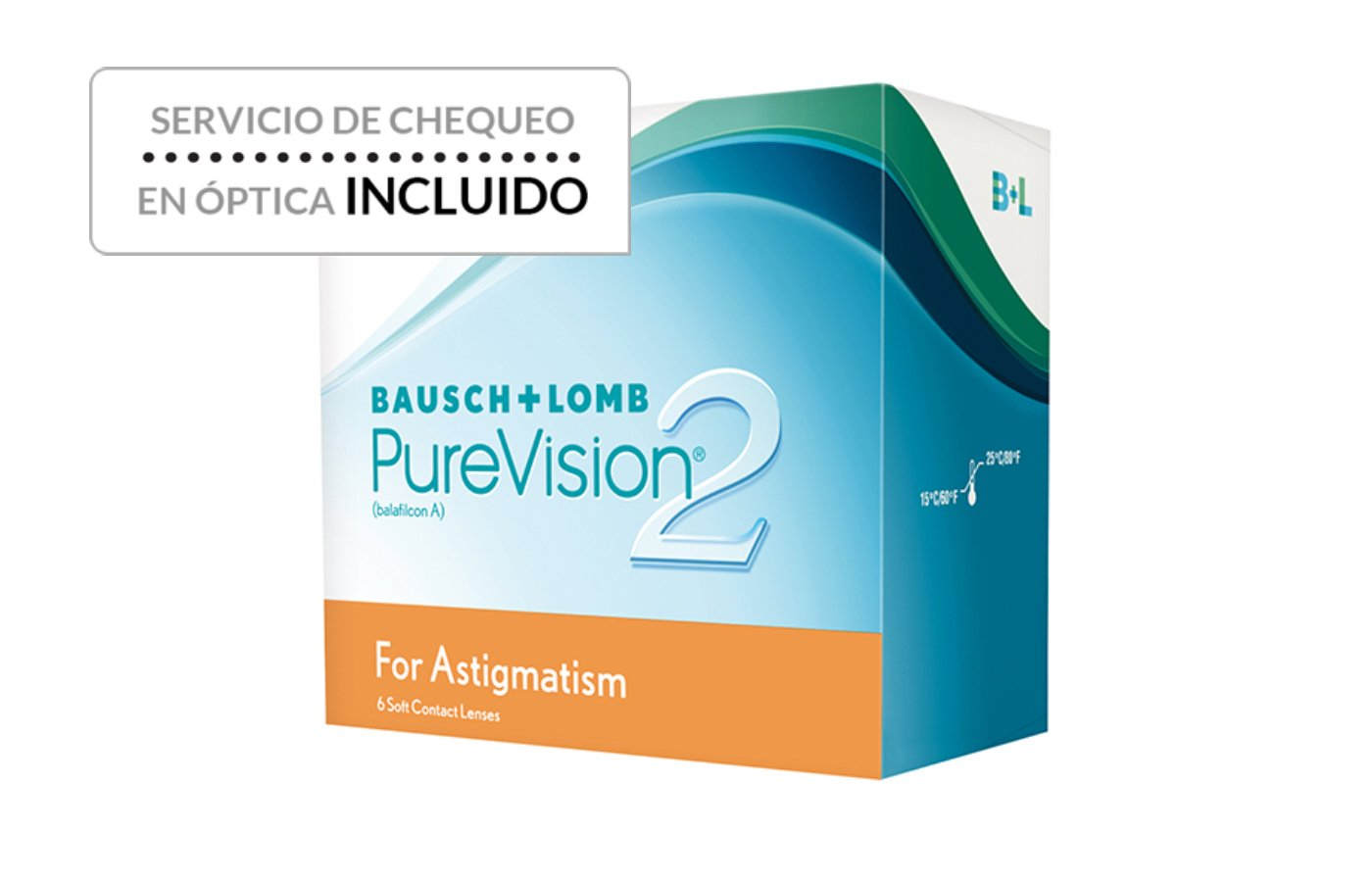 PureVision 2HD for Astigmatism 6 ud
